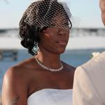 When the bride looks into the groom's eyes wedding photographer Ernest Smith will be there to capture the moment..